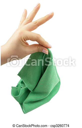 Cleaning cloth - csp3260774