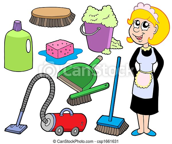 Cleaning collection 1 - csp1661631
