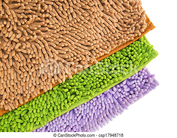 Cleaning feet doormat or carpet for clean your feet. - csp17948718