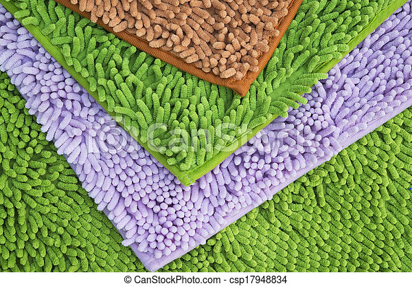 Cleaning feet doormat or carpet for clean your feet. - csp17948834