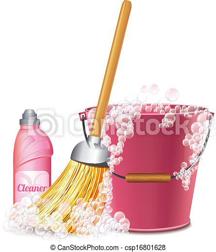 Cleaning Icon - csp16801628