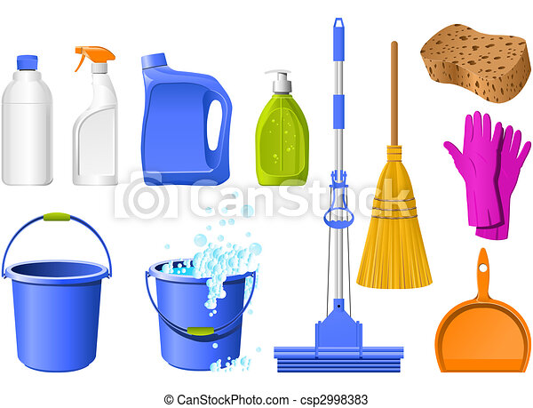 Cleaning icons - csp2998383