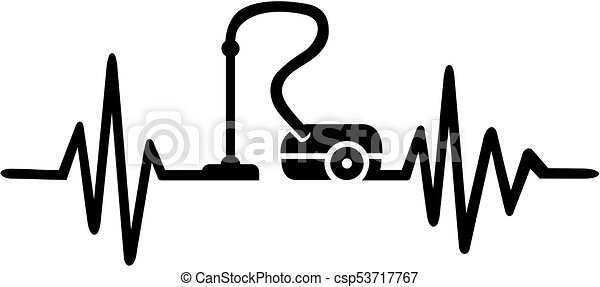 cleaning lady heartbeat line cleaning lady heartbeat pulse clip rh canstockphoto co uk heartbeat clip art thank you heartbeat clipart racing