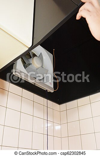 Cleaning Of The Kitchen Exhaust Fan
