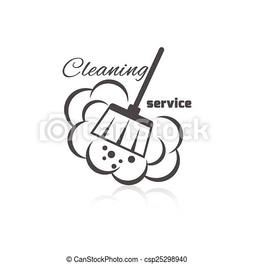 Cleaning Service Icon - csp25298940