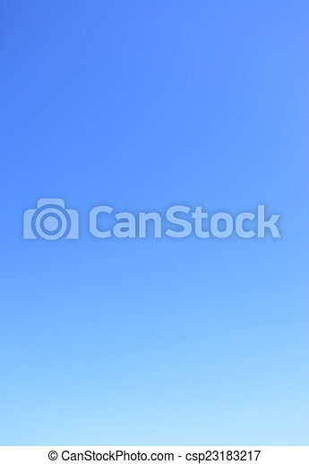 Clear cloudless blue sky - csp23183217