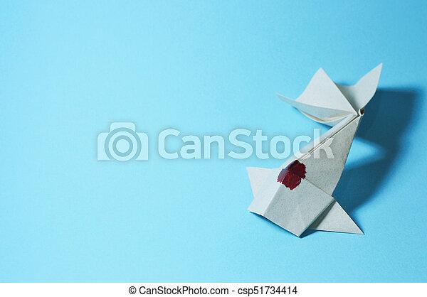 Origami: Fish Koi ( Riccardo Foschi ) - YouTube | Origami fish ... | 319x450