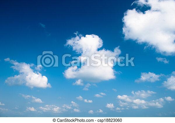 Clear sky - csp18823060