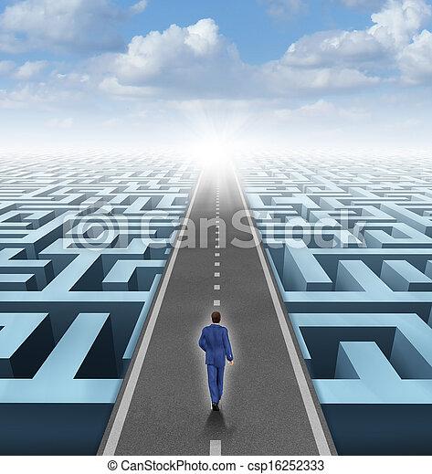 Clear Vision Leadership - csp16252333