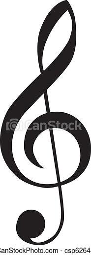 clef, g - csp6264860