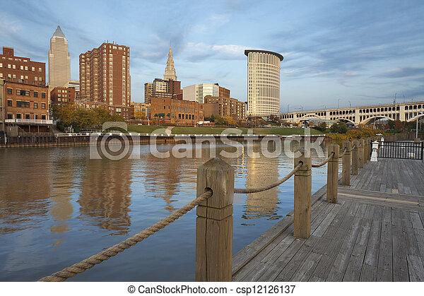 Cleveland. - csp12126137