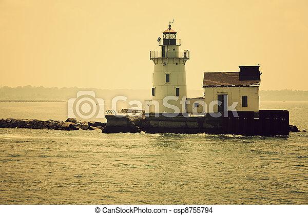 Cleveland lighthouse - csp8755794