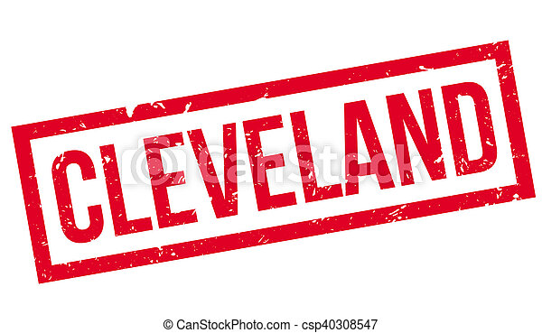 Cleveland rubber stamp - csp40308547