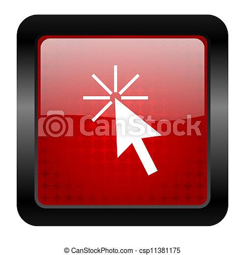click here icon - csp11381175