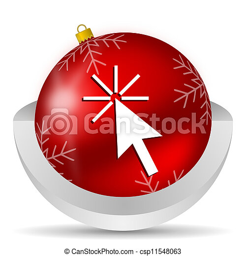 click here icon - csp11548063