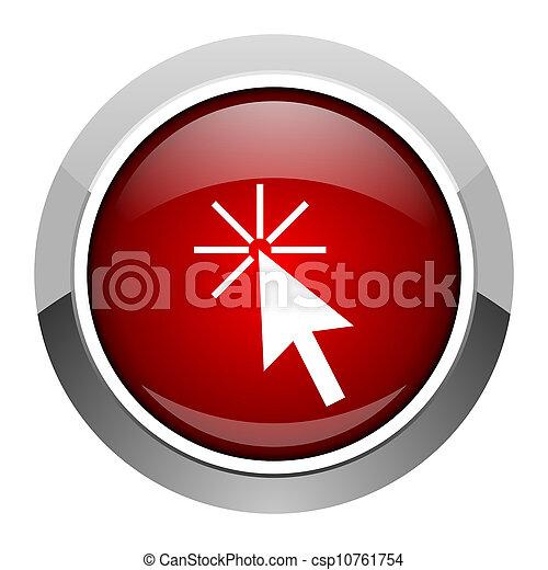 click here icon - csp10761754