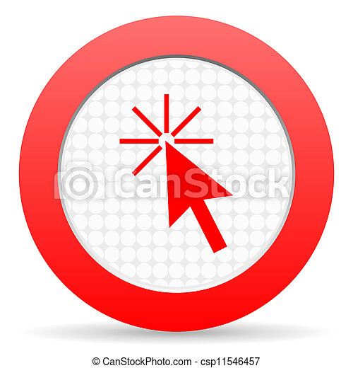 click here icon - csp11546457