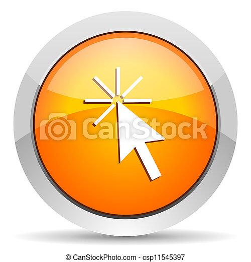 click here icon - csp11545397