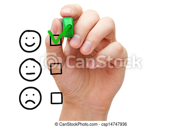 client, évaluation, service, excellent - csp14747936
