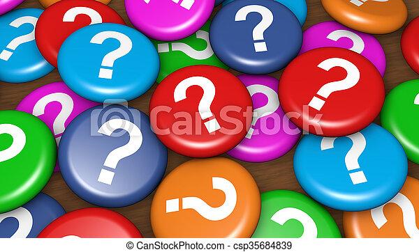 client, business, questions - csp35684839