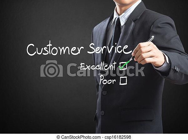 client, excellent, service - csp16182598