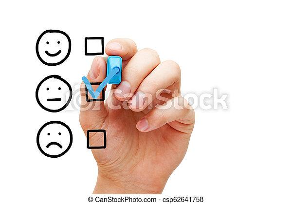 client, formulaire, moyenne, enquête, vide, évaluation - csp62641758