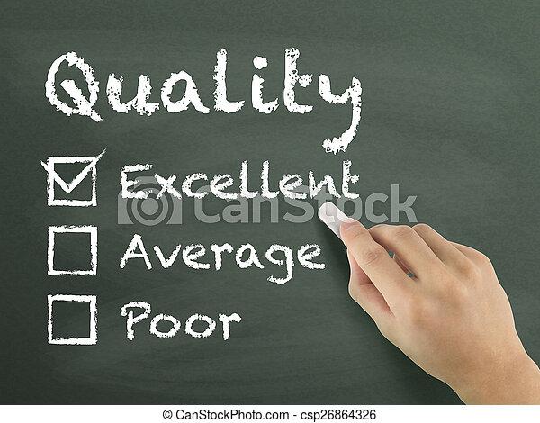 client, formulaire, service, choisir, excellent, évaluation - csp26864326
