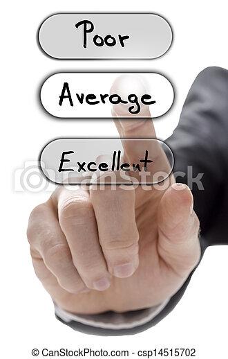 client, formulaire, service, moyenne, choisir, évaluation - csp14515702