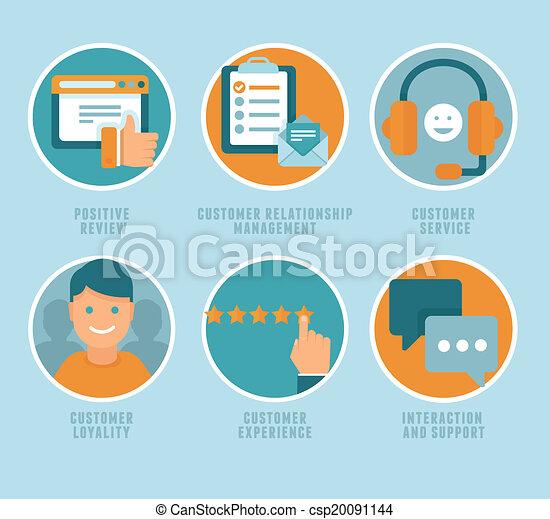 cliente, appartamento, vettore, esperienza, concetti - csp20091144