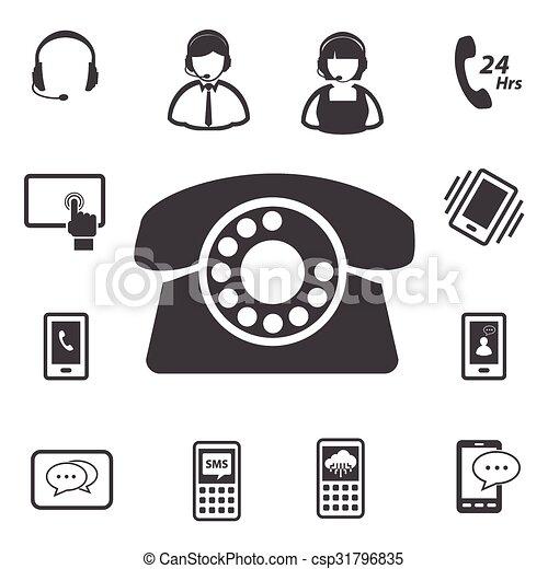 cliente, centro chiamata, servizio - csp31796835
