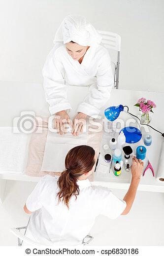 cliente, esteticista - csp6830186