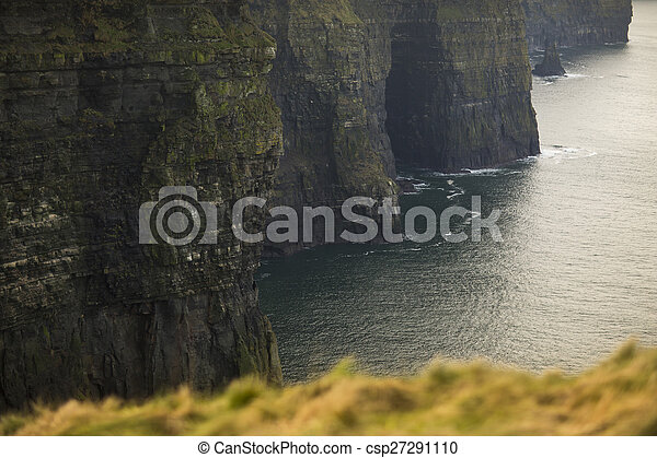 Cliffs of Moher in County Clare, Ireland - csp27291110