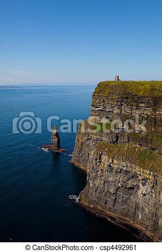 Cliffs of Moher in County Clare, Ireland - csp4492961