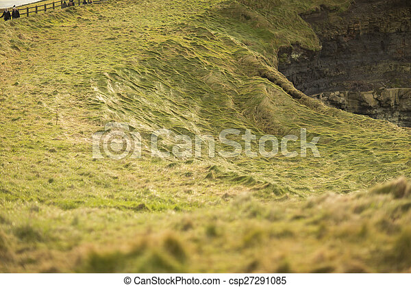 Cliffs of Moher in County Clare, Ireland - csp27291085