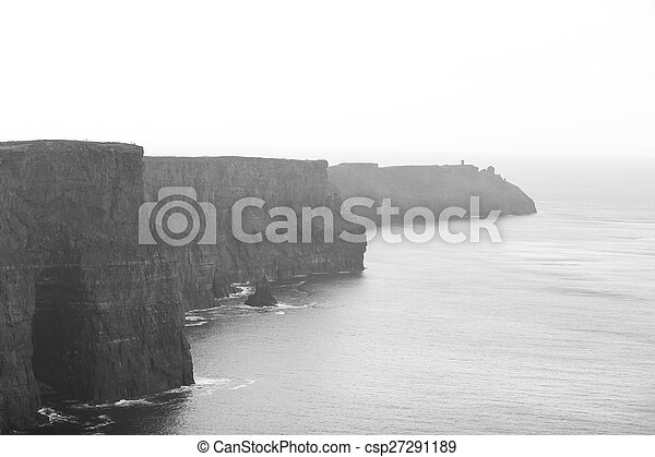 Cliffs of Moher in County Clare, Ireland - csp27291189