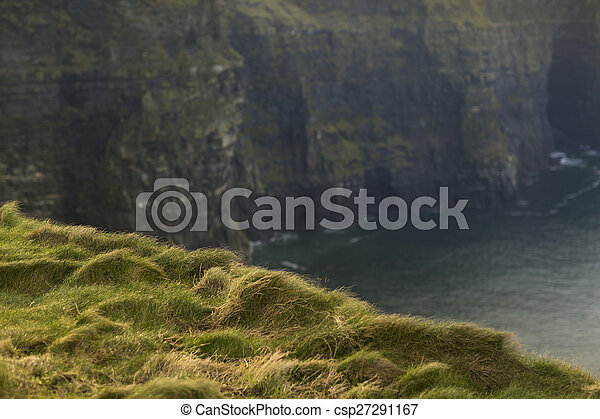 Cliffs of Moher in County Clare, Ireland - csp27291167