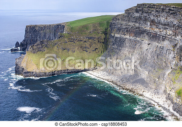 Cliffs of Moher in County Clare, Ireland - csp18808453