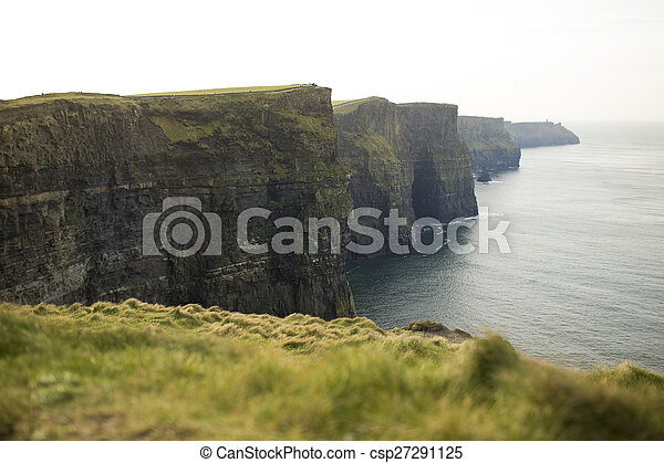 Cliffs of Moher in County Clare, Ireland - csp27291125