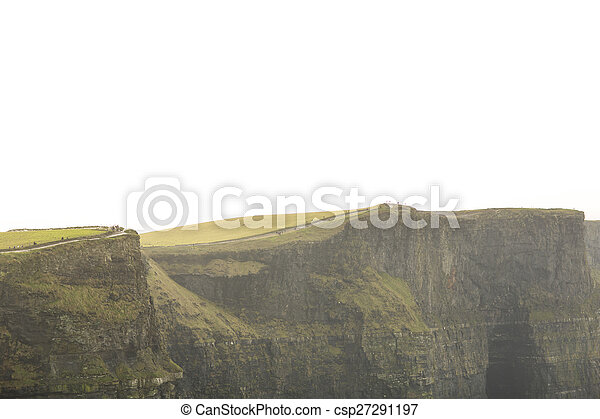 Cliffs of Moher in County Clare, Ireland - csp27291197
