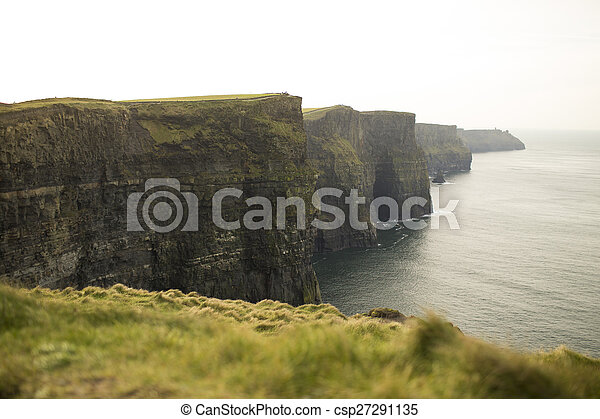 Cliffs of Moher in County Clare, Ireland - csp27291135