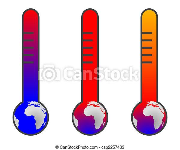 Climate change: global warming - csp2257433