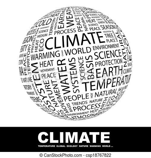 climate. - csp18767822
