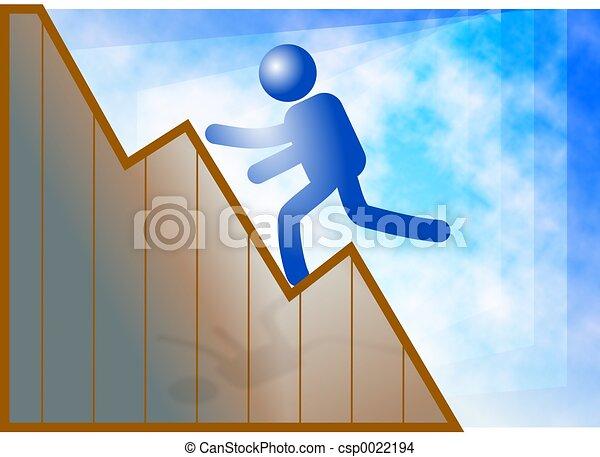 Climb to Success - csp0022194