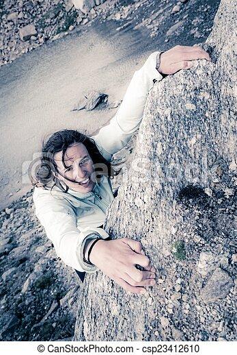 climber., femmina - csp23412610