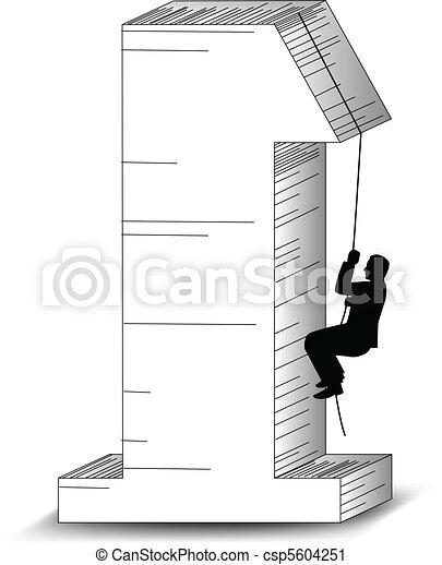 climbing for success - csp5604251