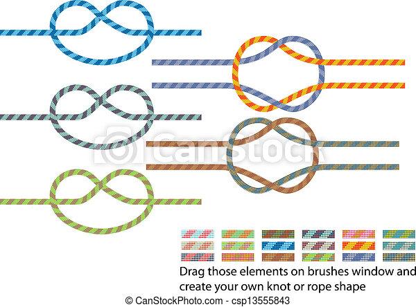 Climbing rope pattern - csp13555843