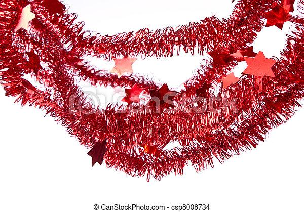 clinquant, rouges - csp8008734