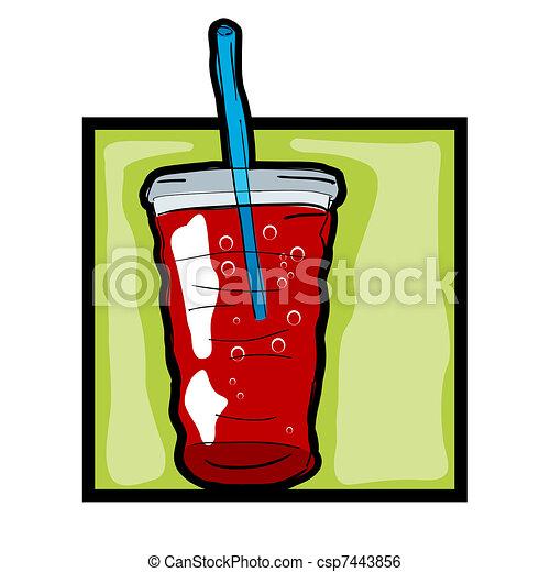 Clip art fresh soda - csp7443856