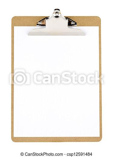 clip board - csp12591484