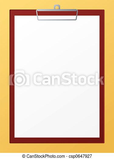 clip board - csp0647927